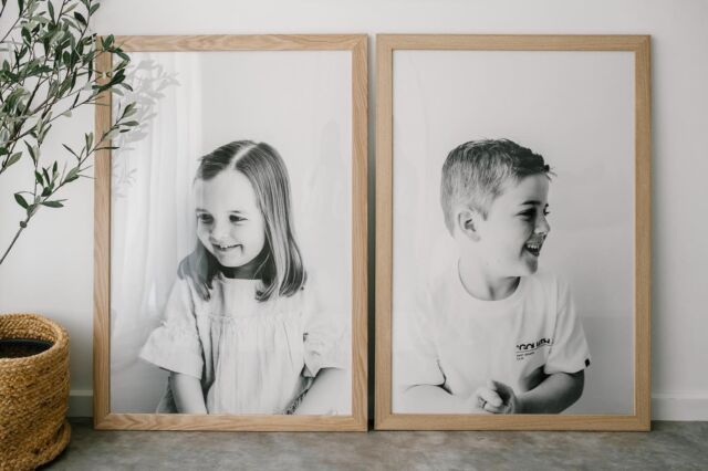A clever Dad organised this pair of framed prints as a Mother's Day gift back in May. And we just had to show them off. What an amazing feature they will be in the home measuring slightly under 1.5 metres tall.  If you're looking for a unique, quality Christmas gift for Mama or the grandparents, feel free to get in touch. There's still time to organise this kind of session. 🎄